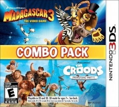 Madagascar 3 and The Croods Combo Pack