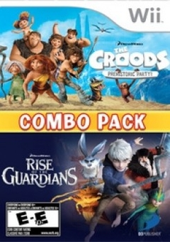 The Croods & Rise of the Guardians Combo Pack