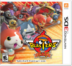Yo-kai Watch Blasters: White Dog Squad & Red Cat Corps
