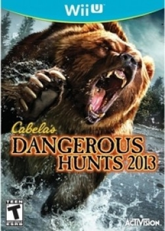 Cabela's Dangerous Hunts 2013 [Wii U]