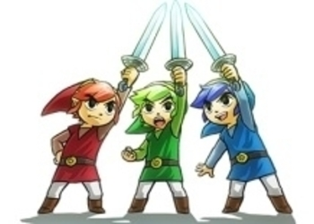 Рекламный ролик The Legend of Zelda: Tri Force Heroes