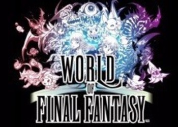 World of Final Fantasy - новый трейлер с Jump Festa 2016