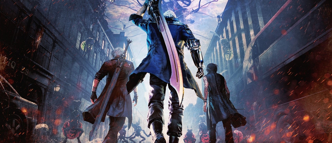 В сети появились предварительные изображения логотипа Devil May Cry V