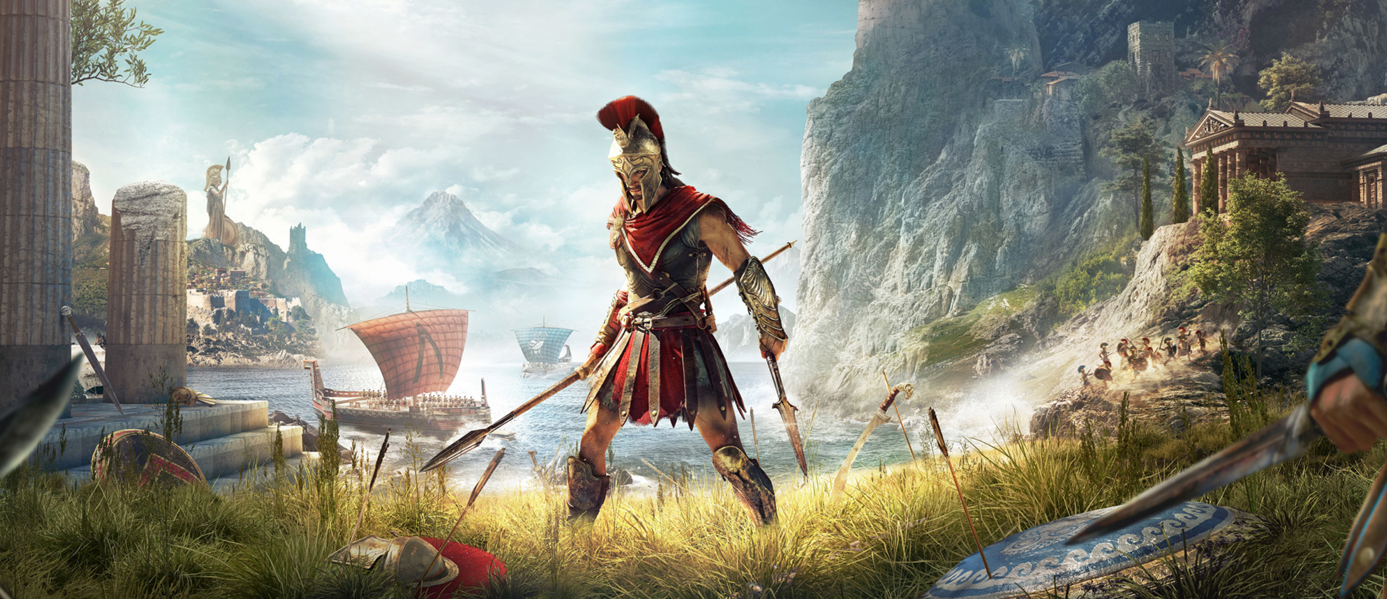 fans assassins creed odyssey - 1390×600