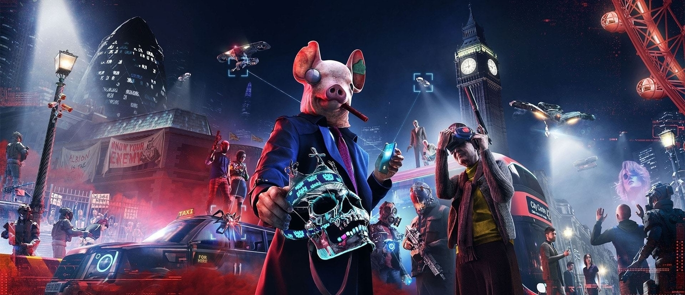 Ubisoft объявила о переносе Watch Dogs Legion, Rainbow Six Quarantine и Gods & Monsters