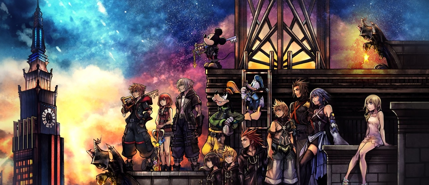 Kingdom Hearts HD 1.5 + 2.5 ReMIX и Kingdom Hearts HD 2.8 Final Chapter Prologue выйдут на Xbox One