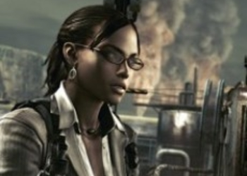 RE5 Gold Edition: Excella Gionne в Mercenaries Reunion