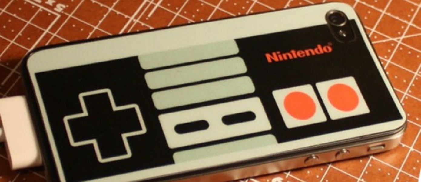 NES Controller iPhone 4 Decal