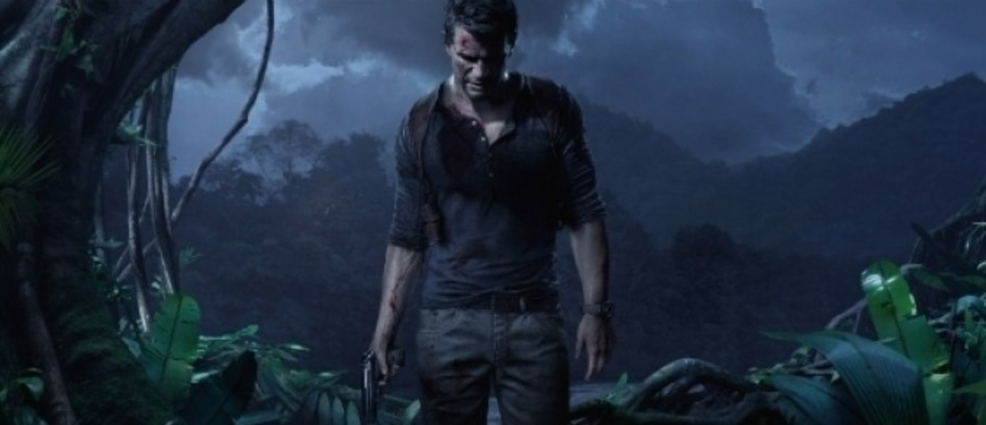 Uncharted 4: A Thief's End на обложке Game Informer