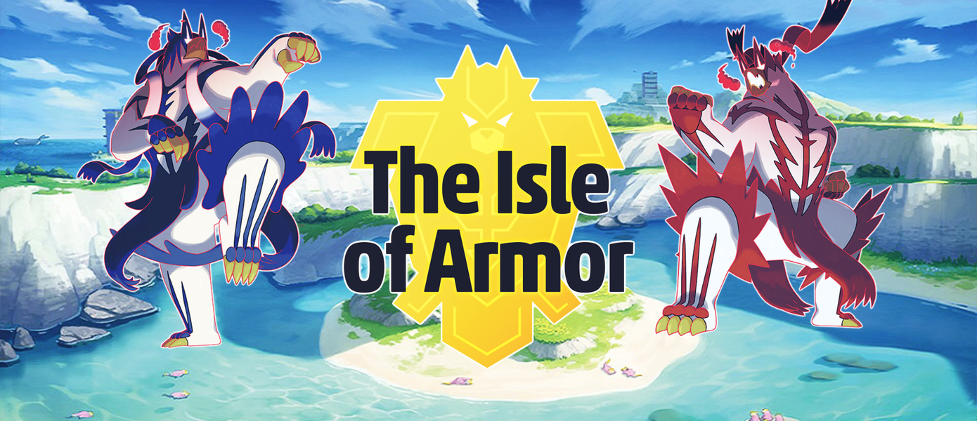 Обзор Pokemon Sword and Shield - The Isle of Armor