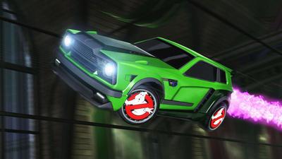 Охотники за привидениями спешат в Rocket League в рамках хэллоуинского события