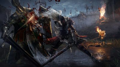 Битвы с врагами и локации на первых скриншотах Elden Ring - мрачного фэнтези от FromSoftware