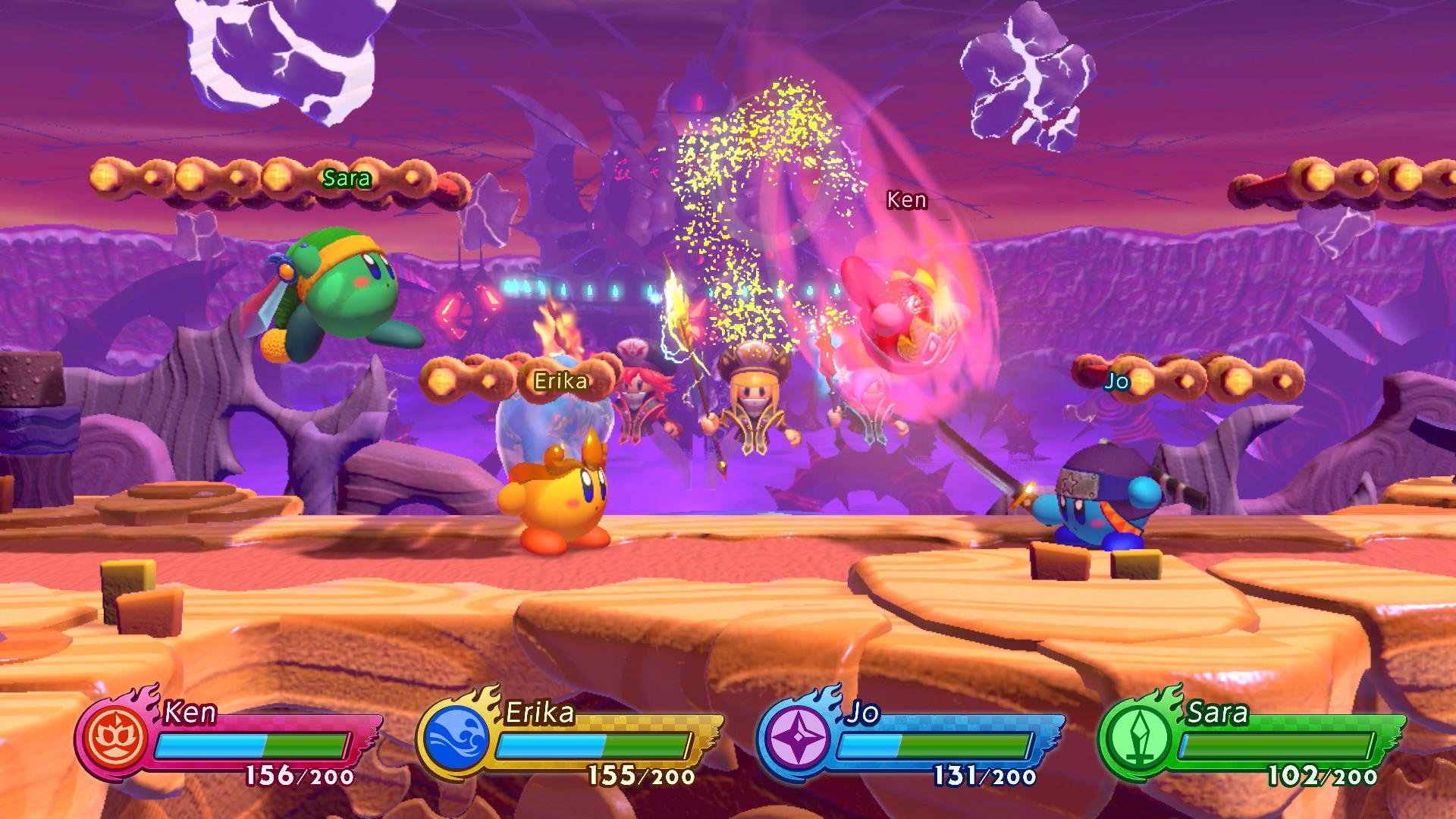 Побоище колобков возвращается: Обзор Kirby Fighters 2