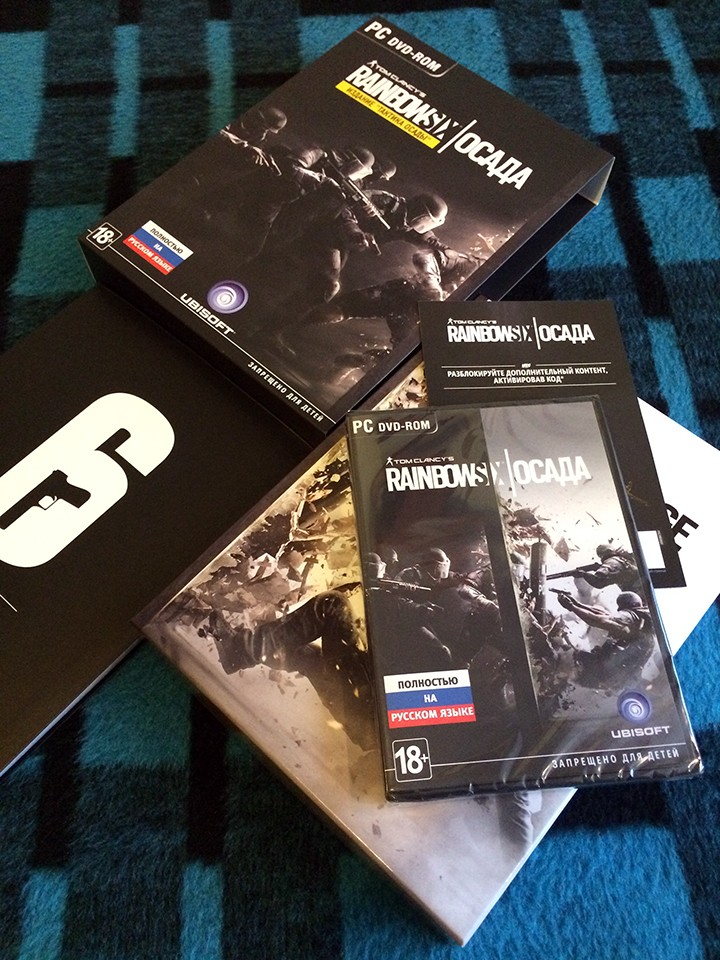 Tom Clancy's Rainbow Six: Осада