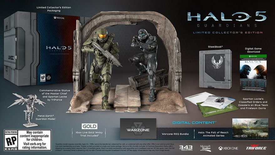 Halo 5 Guardians Limited