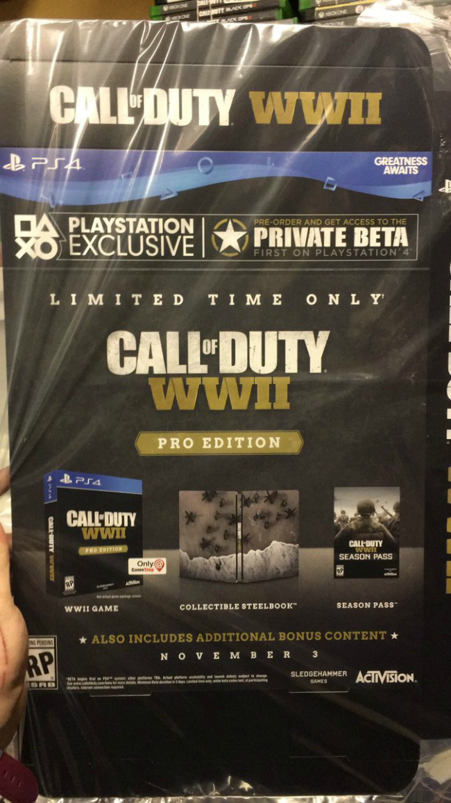 Call of Duty: WWII PRO