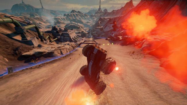 Обзор  GRIP: Combat Racing