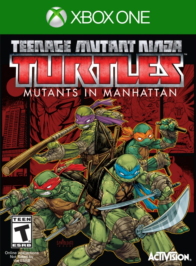 Скачать TEENAGE MUTANT NINJA TURTLES: MUTANTS IN MANHATTAN (2016) PC | REPACK ОТ XATAB торрент