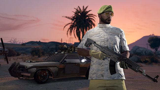 GTA Online Gunrunning Screen 4K - 01