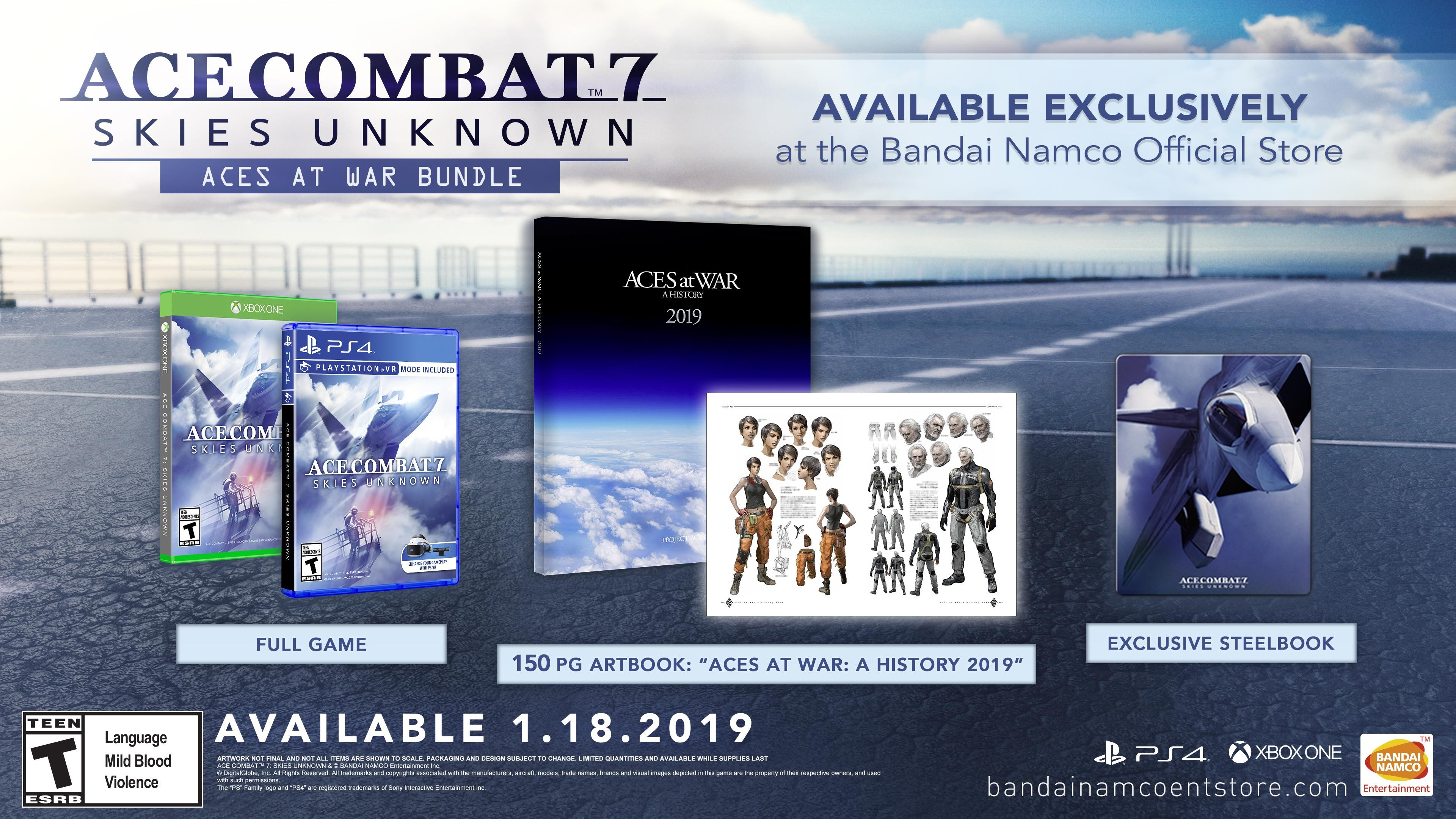 Ace Combat 7: Skies Unknown 'Aces at War Bundle'