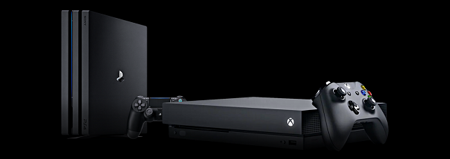 PS4 Pro, Xbox One X