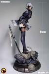Nier: Automata - Moonlight Studio представила новую статуэтку 2B, позволяющую снимать с героини юбку