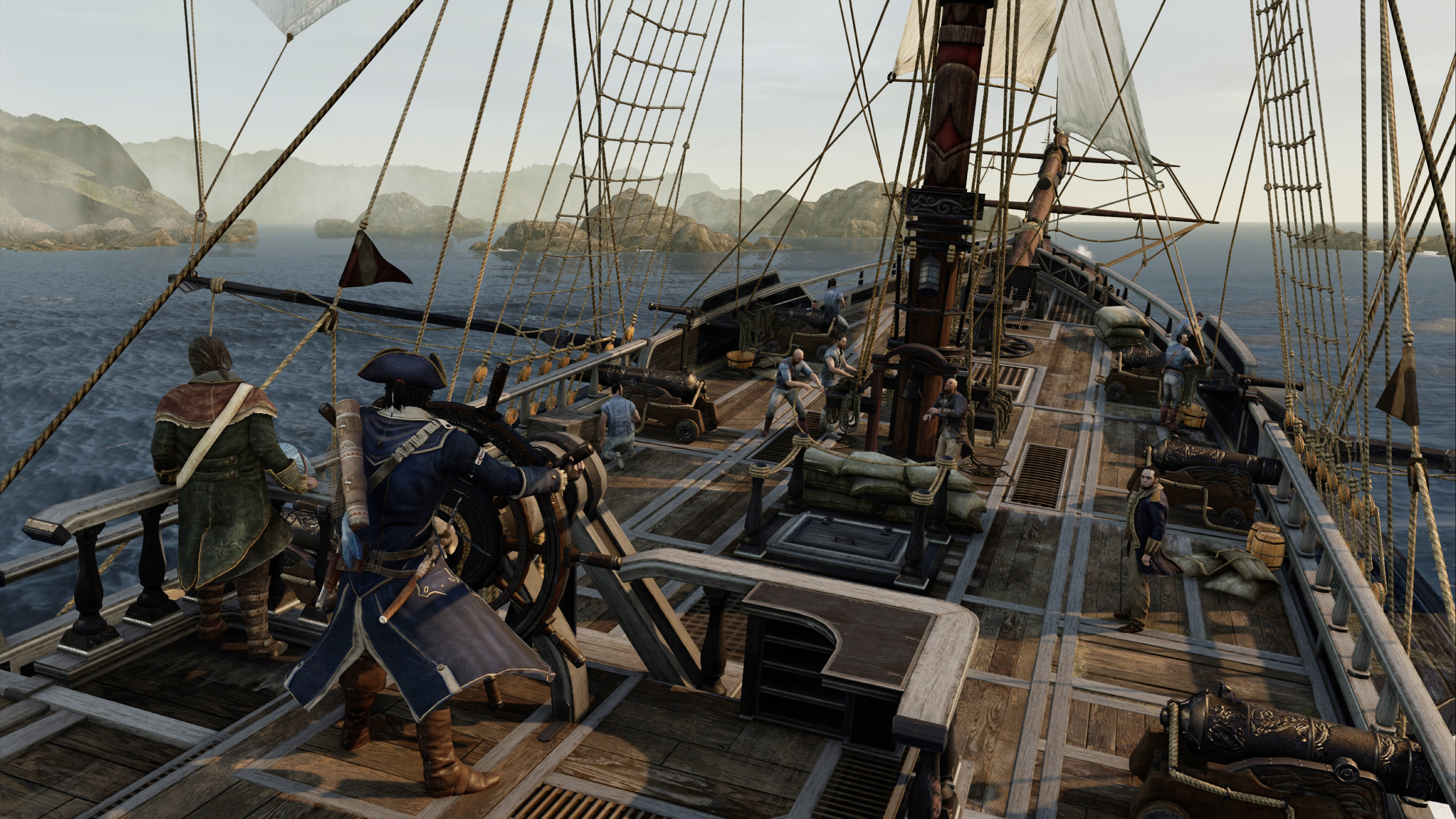 przeci assassins creed iii - HD 3840×2160